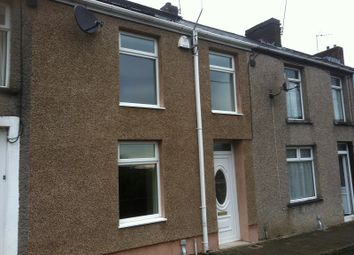 Thumbnail 3 bed terraced house for sale in Gwendoline Terrace, Maesteg, Bridgend.