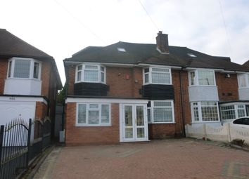 Thumbnail 7 bed semi-detached house to rent in Walsall Road, Birmingham
