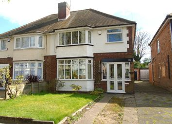 Thumbnail 3 bed semi-detached house for sale in Croft Road, Yardley, Birmingham