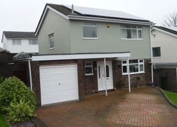 Thumbnail 3 bed detached house for sale in Bedford Close, Greenmeadow, Cwmbran