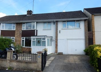 Thumbnail 4 bed semi-detached house for sale in Wootton Park, Knowle, Bristol