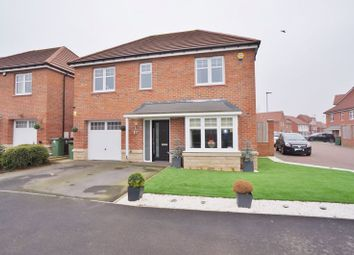 Thumbnail 4 bed detached house for sale in Gascoigne Close, Pontefract