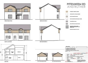 Thumbnail 4 bed detached house for sale in Plot 2, Pittenweem Road, Anstruther