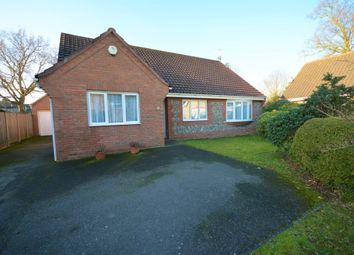 Thumbnail 3 bed detached bungalow for sale in Lothingland Close, Oulton, Lowestoft