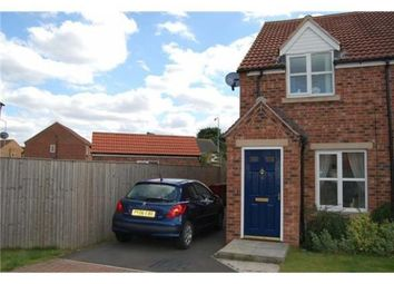Thumbnail 2 bed semi-detached house to rent in Greyfrairs, Scunthorpe