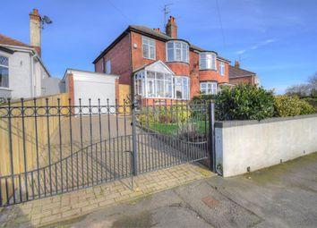 Thumbnail 3 bed semi-detached house for sale in Hustler Road, Bridlington