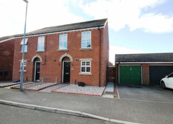 Thumbnail 3 bed semi-detached house for sale in Rudkin Drive, Crook