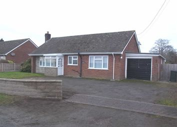 Thumbnail 2 bed detached bungalow to rent in Fairfields, Edgerley, Kinnerley, Oswestry, Shropshire