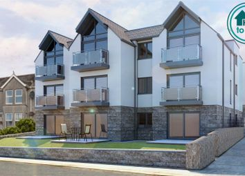 Thumbnail 2 bed flat for sale in 12Edgcumbe Gardens, Newquay