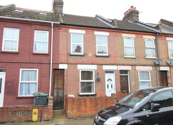 Thumbnail 2 bedroom terraced house for sale in Newcombe Road, Luton