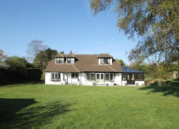 Thumbnail 5 bed detached house for sale in Vicarage Lane, Send, Woking
