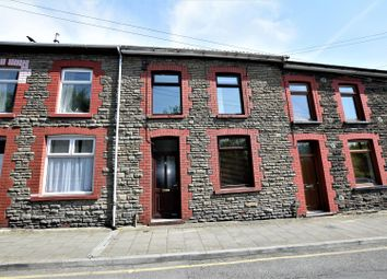 Thumbnail 3 bed terraced house for sale in Llanover Road, Pontypridd