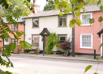 Thumbnail 2 bed terraced house for sale in Glemsford, Sudbury, Suffolk