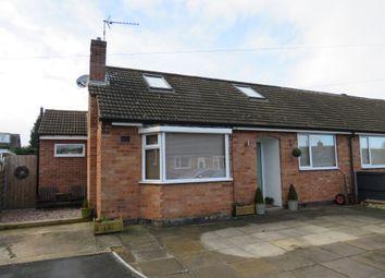 Thumbnail 3 bed semi-detached bungalow for sale in Elfin Grove, Dunton Bassett, Lutterworth