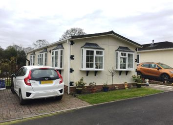 Thumbnail 2 bed mobile/park home for sale in Canada Road, West Wellow, Romsey