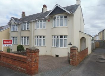Thumbnail 3 bed semi-detached house for sale in Enfield Road, Torquay