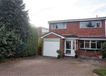 Thumbnail 4 bed detached house for sale in Thackeray Drive, Chester