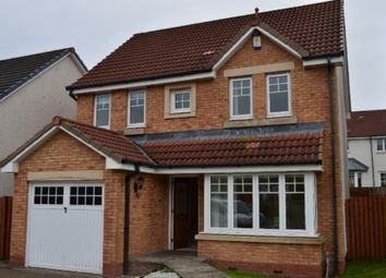 Thumbnail 4 bed detached house to rent in Burns Avenue, The Inches, Larbert