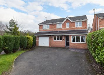 Thumbnail 4 bed detached house for sale in Hawthorn Grove, Knypersley, Staffordshire
