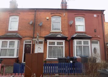 Thumbnail 2 bed terraced house for sale in Primrose Avenue, Sparkhill, Birmingham
