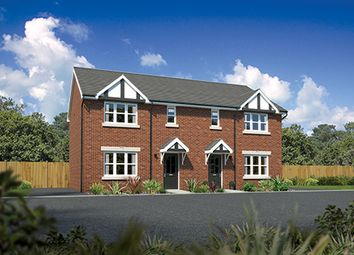 "Thumbnail 3 bed semi-detached house for sale in ""Caplewood"" At Kents Green Lane, Winterley, Sandbach CW1, Winterley, Cheshire,"