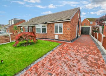 Thumbnail 2 bed semi-detached bungalow for sale in Sunningdale Drive, Irlam, Manchester
