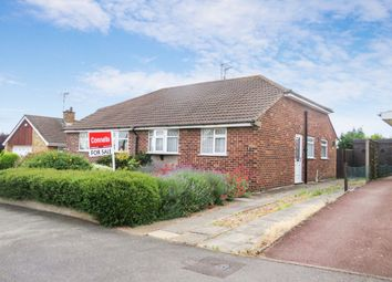 Thumbnail 2 bedroom semi-detached bungalow for sale in Millfield Crescent, Braunstone Town, Leicester