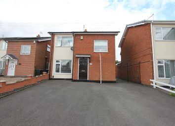 Thumbnail 3 bed detached house for sale in Lundy Close, Hinckley