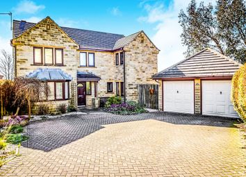 5 bed detached house for sale in Hawthorne Way, Shelley, Huddersfield HD8