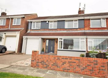 Thumbnail 4 bed semi-detached house for sale in Greetlands Road, Tunstall, Sunderland