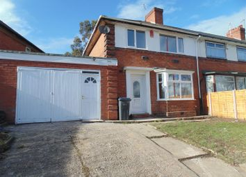 Thumbnail 3 bed semi-detached house to rent in Tyburn Road, Erdington, Birmingham
