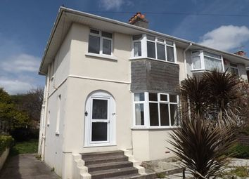 Thumbnail 3 bed property to rent in Nicholson Road, Crownhill, Plymouth