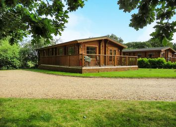 Thumbnail 2 bedroom mobile/park home for sale in Old Church Road, Frettenham, Norwich