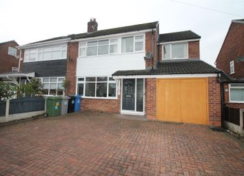 Thumbnail 5 bed semi-detached house for sale in Davylands, Urmston, Manchester