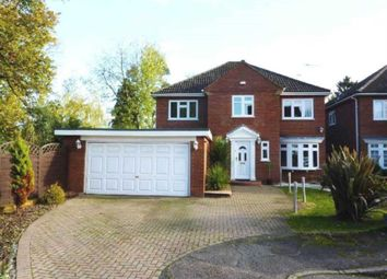 Thumbnail 5 bed detached house to rent in Shiremead, Elstree, Borehamwood