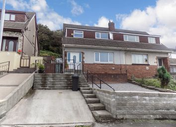 Thumbnail 3 bed semi-detached house for sale in Morlais Road, Port Talbot, Neath Port Talbot.