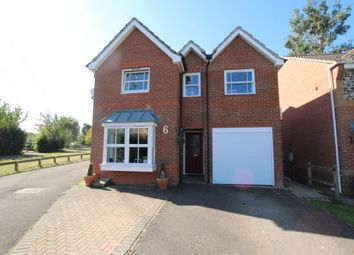 Thumbnail 4 bed detached house for sale in Howell Close, Reading