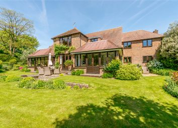 Thumbnail 5 bed detached house for sale in Houghton Lane, Bury, Pulborough, West Sussex