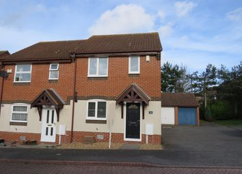 Thumbnail 3 bed semi-detached house to rent in Grosmont Close, Emerson Valley, Milton Keynes