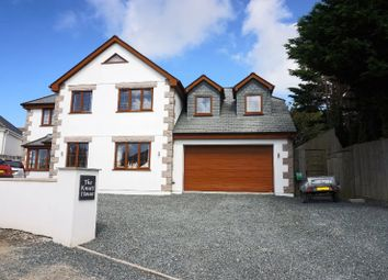 Thumbnail 5 bedroom detached house for sale in Treninnick, Newquay