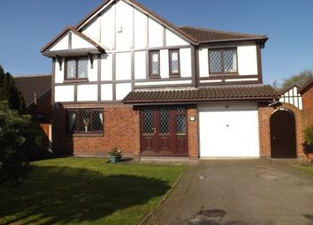 Thumbnail 5 bed detached house to rent in Sandicroft Close, Birchwood, Warrington