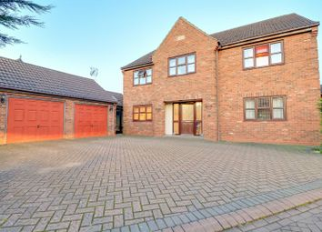 Thumbnail 5 bed detached house for sale in The Steadings, Flixborough, Scunthorpe