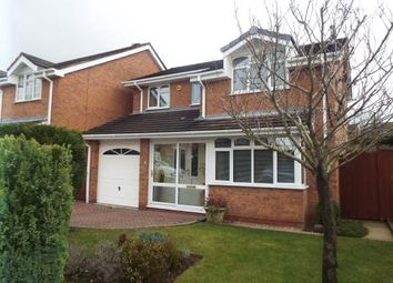 Thumbnail 4 bed detached house for sale in Peterborough Drive, Heath Hayes, Cannock, Staffordshire