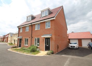 Thumbnail 3 bed semi-detached house for sale in Seabright Way, Aylesbury