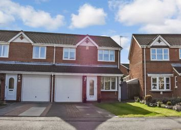 Thumbnail 3 bed semi-detached house for sale in The Belfry, Shiney Row, Houghton Le Spring
