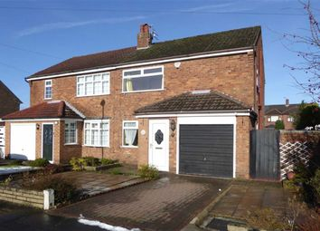 Thumbnail 3 bed semi-detached house for sale in Fawborough Road, Wythenshawe, Manchester