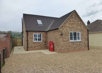 Thumbnail 3 bed bungalow for sale in Croft Road, Upwell, Wisbech