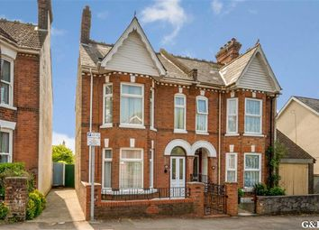 Thumbnail 3 bed semi-detached house for sale in Western Avenue, Ashford, Kent
