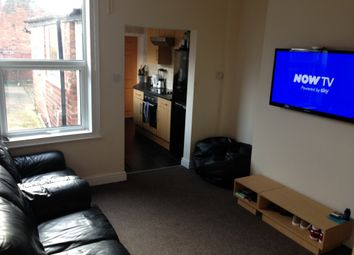 Thumbnail 4 bed terraced house to rent in Thesiger Street, Lincoln