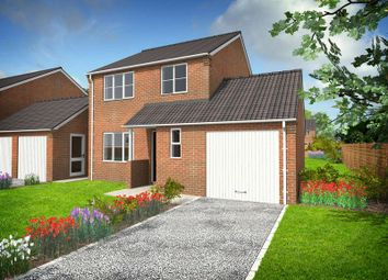 Thumbnail 3 bed detached house for sale in Cumberland Way, Scampton, Lincoln